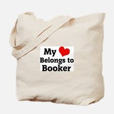 My Heart: Booker Tote Bag