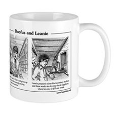 Doofus & Leanie #3 (JIT) Mug