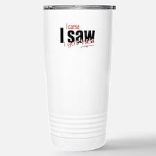 Came, saw and got wet Travel Mug