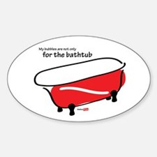 Bubbles in the tub Decal