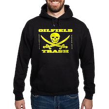 Oil Field Trash,Skull,Bones Hoodie