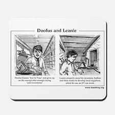 Doofus & Leanie #3 (JIT) Mousepad