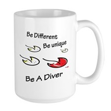 Be unique - Be a diver Mug