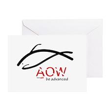AOW be advanced Greeting Card