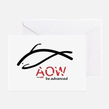 AOW be advanced Greeting Card