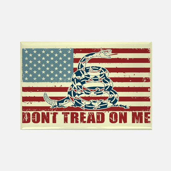 Don't Tread On Me Rectangle Magnet