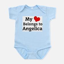 My Heart: Angelica Infant Creeper