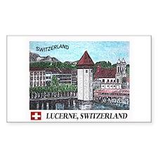 Lucerne Switzerland Decal