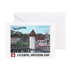 Lucerne Switzerland Greeting Card