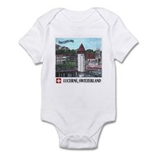Lucerne Switzerland Infant Bodysuit