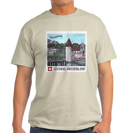 Lucerne Switzerland Light T-Shirt