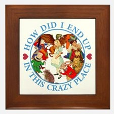 IN THIS CRAZY PLACE Framed Tile