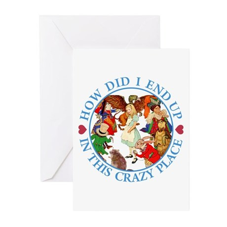 IN THIS CRAZY PLACE Greeting Cards (Pk of 10)