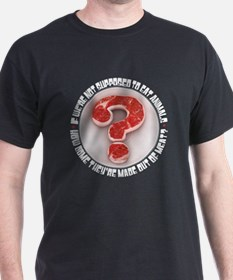 WHY SHOULDN'T WE EAT MEAT? T-Shirt