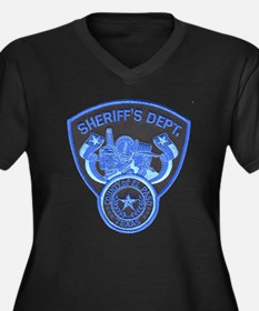 El Paso County Sheriff Women's Plus Size V-Neck Da