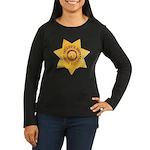 Mono County Sheriff Women's Long Sleeve Dark T-Shi