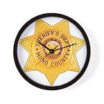 Mono County Sheriff Wall Clock