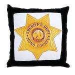Mono County Sheriff Throw Pillow