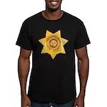 Mono County Sheriff Men's Fitted T-Shirt (dark)