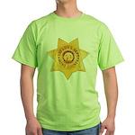 Mono County Sheriff Green T-Shirt