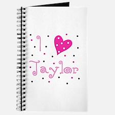 Journal ~ I (Heart) Taylor