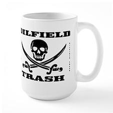 Oil Field Trash,Skull Mug