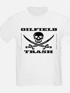Oil Field Trash,Skull T-Shirt