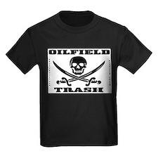 Oil Field Trash,Skull T