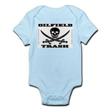 Oil Field Trash,Skull Infant Bodysuit