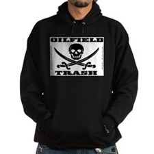 Oil Field Trash,Skull Hoody