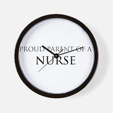 Proud Parent: Nurse Wall Clock