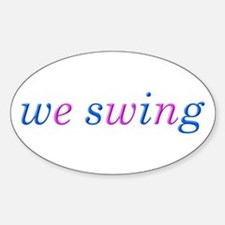 we swing Decal