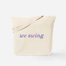 we swing Tote Bag