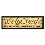 We The People Sticker (Bumper 10 pk)