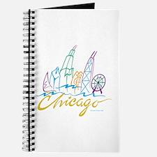 Chicago Stylized Skyline Journal