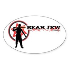 Bear Jew Decal