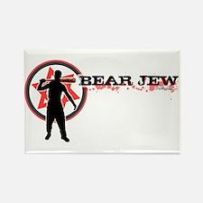Bear Jew Rectangle Magnet