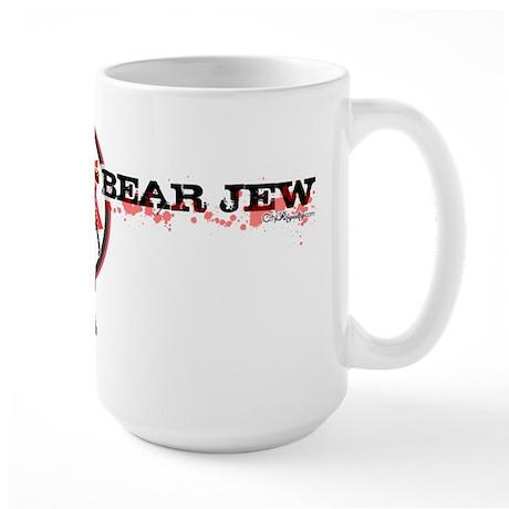 Bear Jew Large Mug