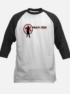 Bear Jew Kids Baseball Jersey