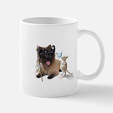 Cairn Terrier with Rat Mug