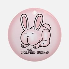 The Keister Bunny Ornament (Round)