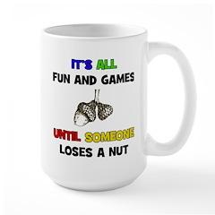 Fun & Games - Nut Mug