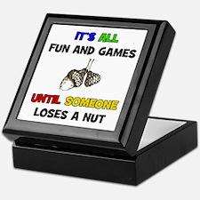 Fun & Games - Nut Keepsake Box
