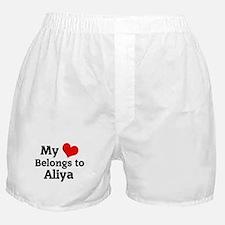 My Heart: Aliya Boxer Shorts
