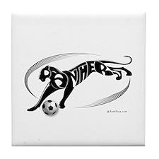 Panthers Soccer Team Tile Coaster