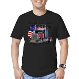 Peterbilt Fitted Dark T-Shirts