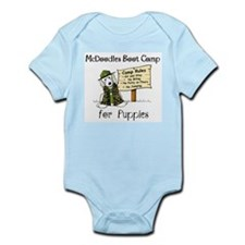 McDoodles Boot Camp Infant Bodysuit