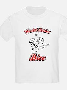 World Series Of Dice Kids T-Shirt