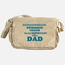 Some call me a Swimming Coach, the m Messenger Bag