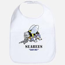 SEABEES-B Baby Bib